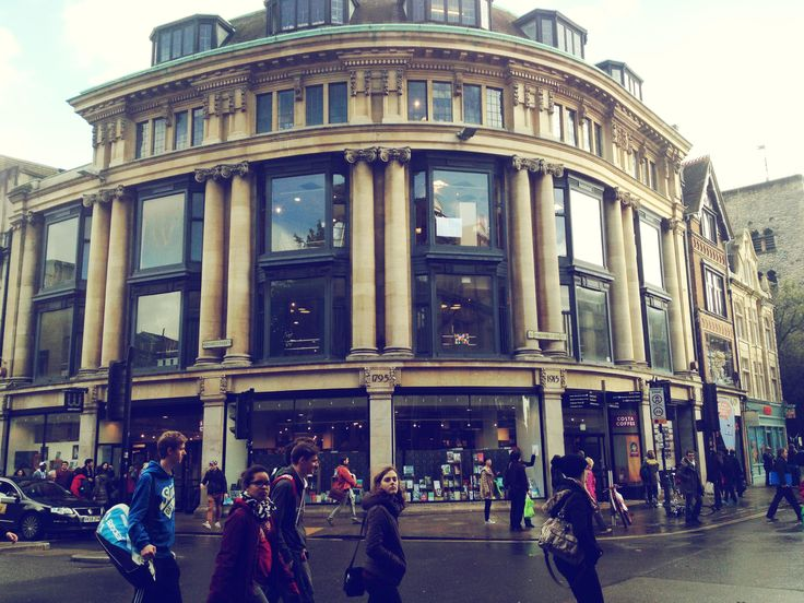 Waterstones Oxford, Broad Street | Beautiful Oxford Bookshops