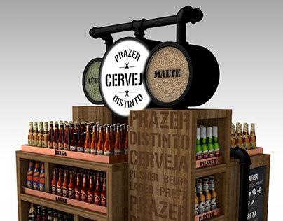 Displays // Craft Beer