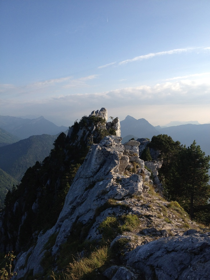 Roc de Boeufs in Parc Naturel Regional du Massif des Bauges, Rhone-Alpes Region, France