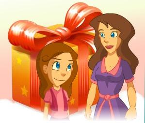 Aula365 festejo el día de la madre con juego y actividades para madres e hijos. www.aula365.com/dia-de-la-madre?source=tw283