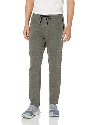 52ef69fd089d Amazon Essentials Men s Tech Fleece Open Bottom Pant