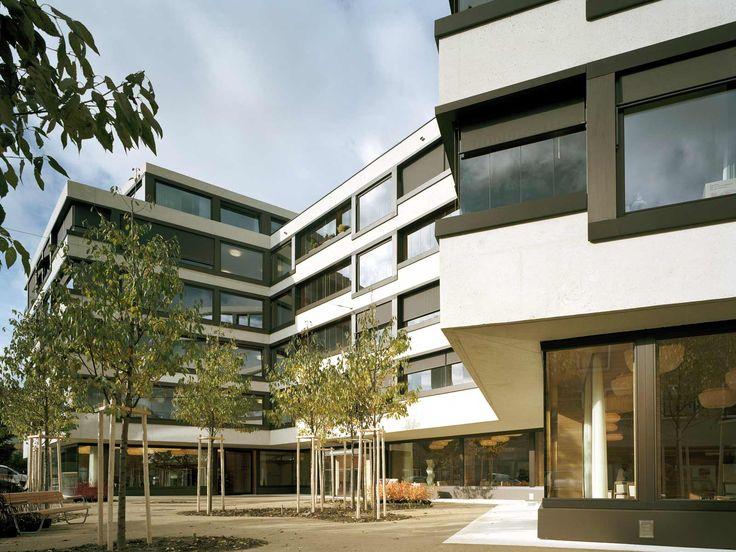 best architects architektur award // Miller & Maranta / Seniorenresidenz Spirgarten / best architects 09 / sonstige #zorg #gevel #volume #schrijnwerk