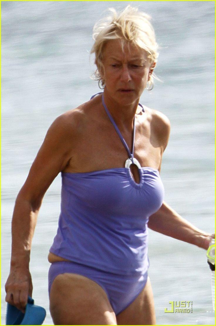 Helen Mirren Bikini Helen Mirren Happy In Hawaii  Helen -4324