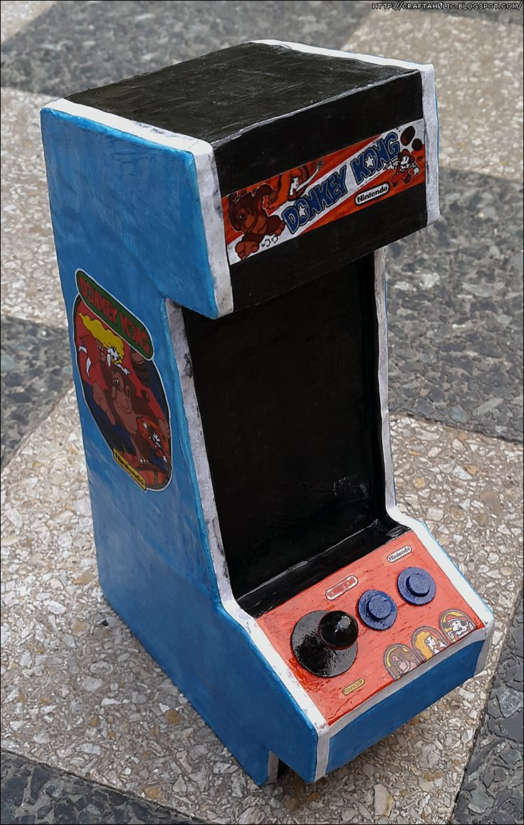 Donkey Kong Arcade Phone Stand