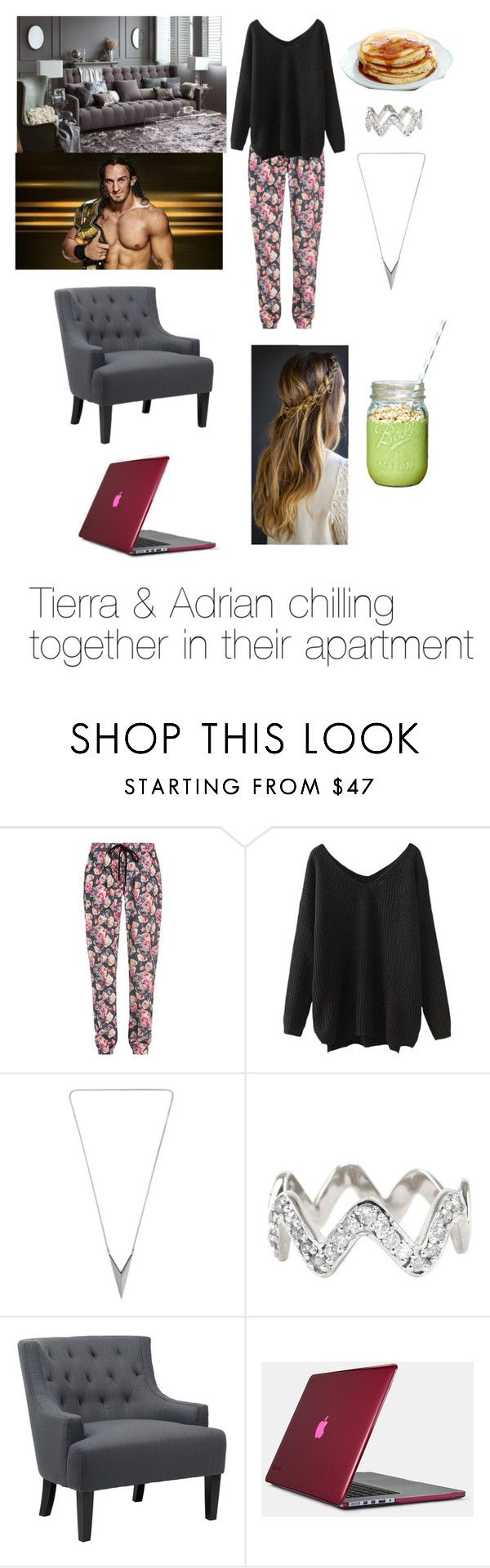 """Tierra & Adrian!"" by a-wwe-love-story ❤ liked on Polyvore featuring Markus Lupfer, ADORNIA, Zara Home, Neville and Speck"