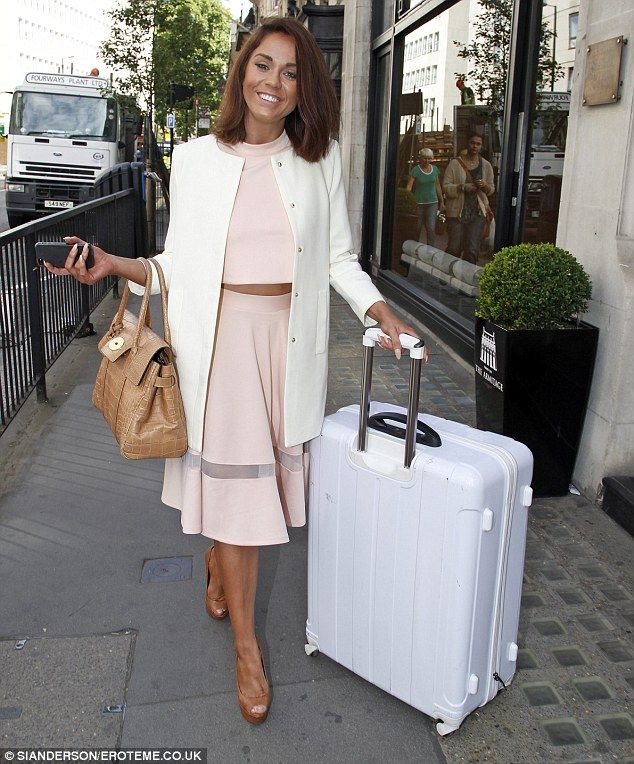Doesn't she look loverly?Vicky Pattison's My Fair Lady makeover continues into her wardrobe