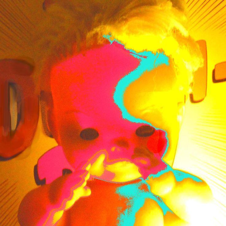 proyecto de pintura  apartir de muñecas  #popart #muñecas #colores