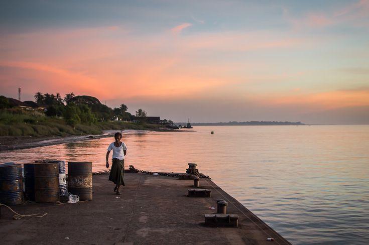 Myanmar mawlamyine sunset