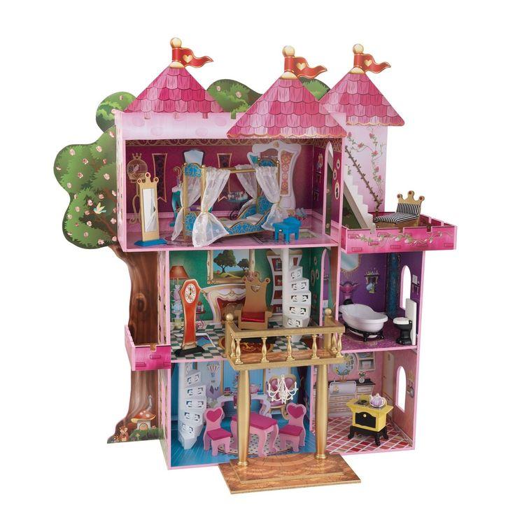 KIDKRAFT Bilderbuch Herrenhaus Holz Puppenhaus Nr 65878 Storybook Mansion • EUR 154,99 - PicClick DE