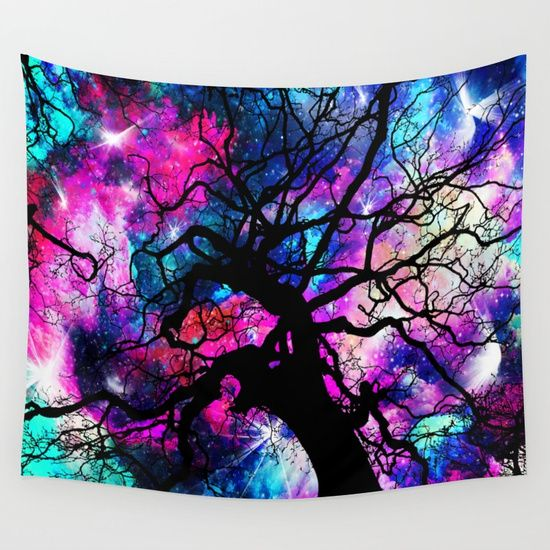 25% OFF + FREE SHIPPING ON ALL WALL TAPESTRIES - SALE ENDS TONIGHT AT MIDNIGHT PT.Starfield Tree