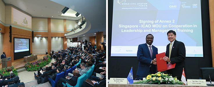 El Presidente del Consejo de la OACI afirma que la inversión en capacidad y las acciones concretas en defensa del medio ambiente deben ser prioridades clave de los dirigentes de la aviación