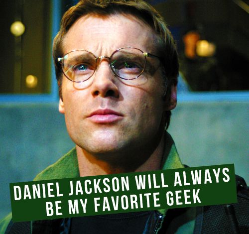 Stargate SG-1. Daniel Jackson. One of my favorites anyway.
