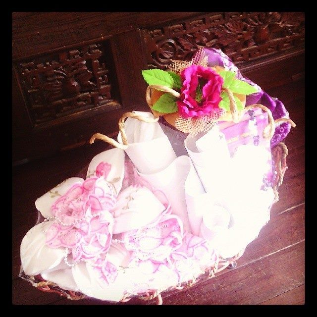 Hantaran Mukena Tema Pink Minat PM. PIN BB : 32164FF2 SMS/WA : 085764323306