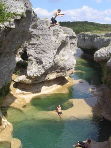 Not many know about this secret Southern oasis...  It's full of fossils, waterfalls & limestone swimming holes