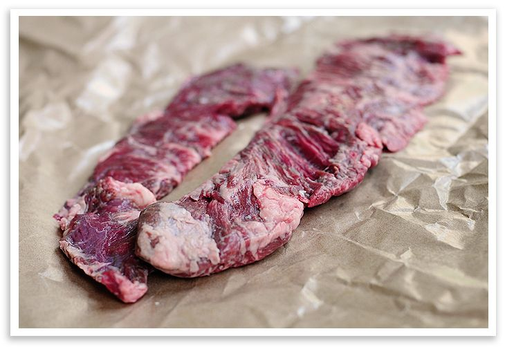 Marinated Skirt Steak - Easy and very flavorful steak, just as good in the iron frying pan as the grill