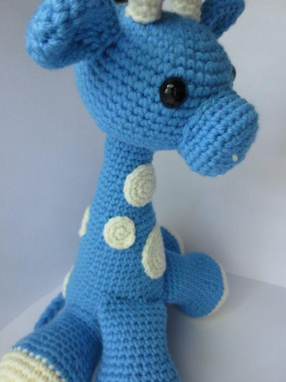 CROCHET PATTERN Amigurumi GiraffeCrochet by LovelyLizardDesigns