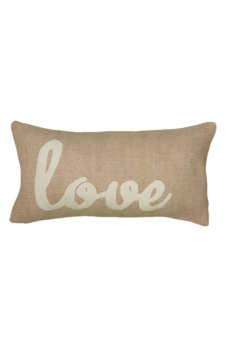 Rizzy Home 'Love' Accent Pillow