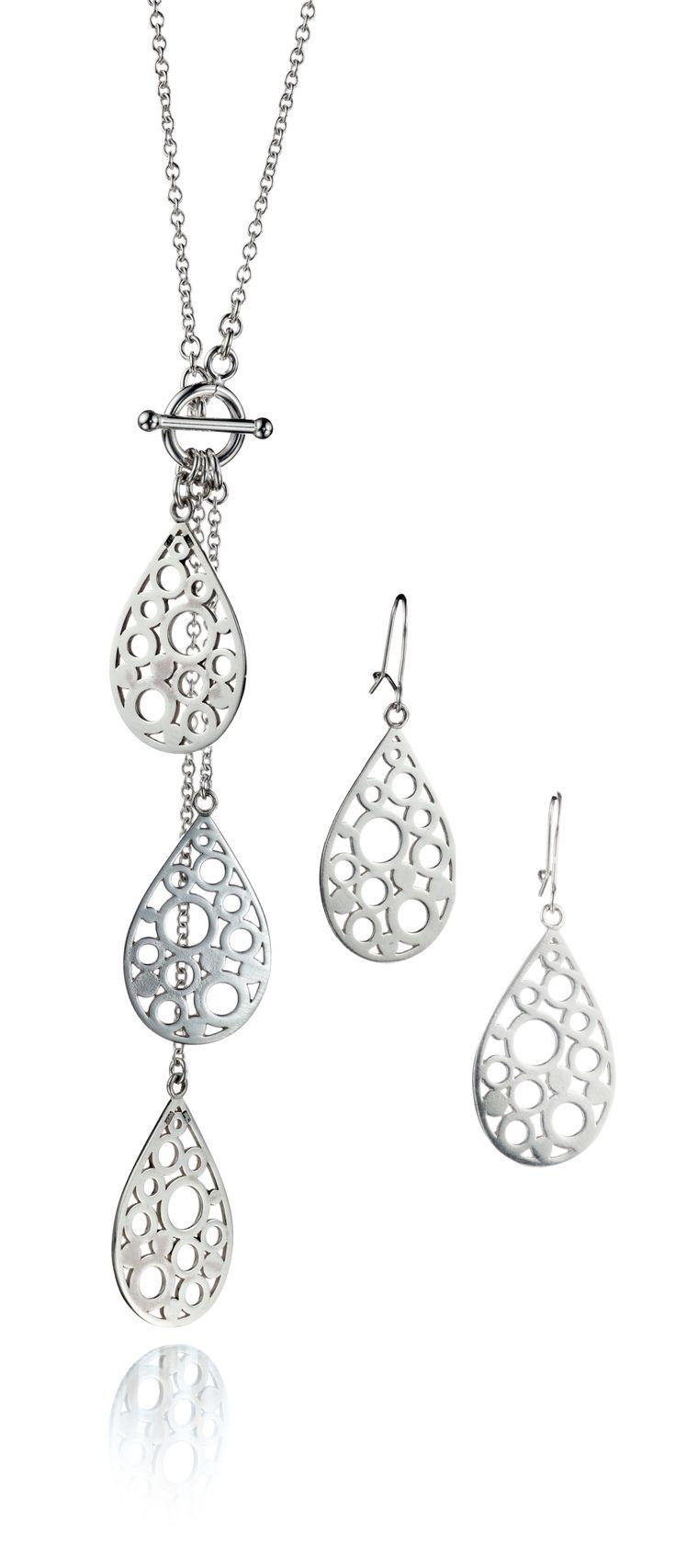 Carina Blomqvist, Sara earrings and necklace, http://www.carinablomqvist.fi/