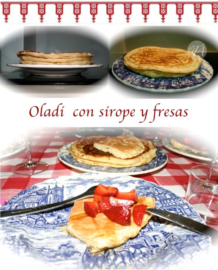 Russian pancakes (oladi)