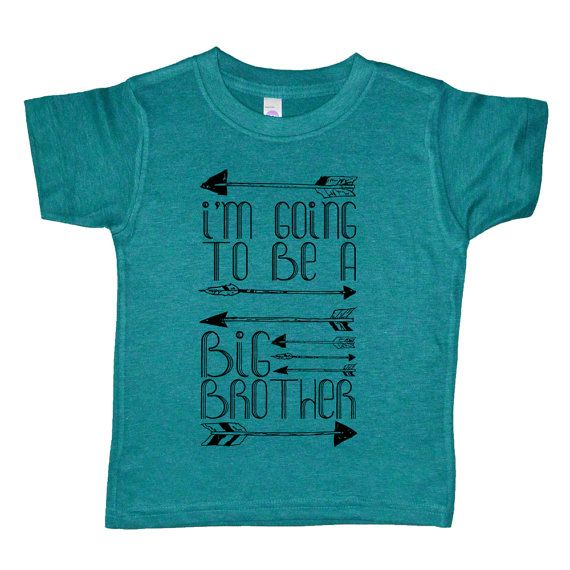 I'm Going To Be A Big Brother Arrows Kids T by VicariousClothing
