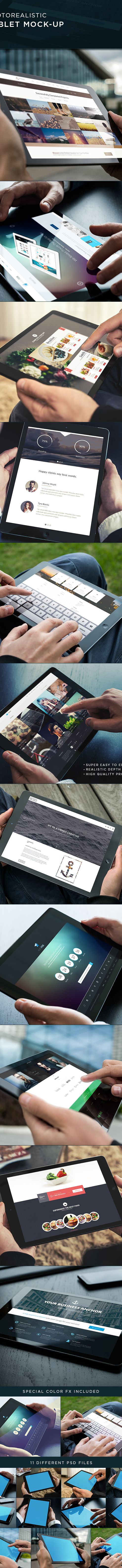 Tablet Mock-Up on Behance