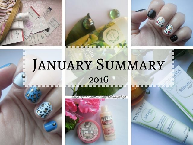 January Summary {2016}