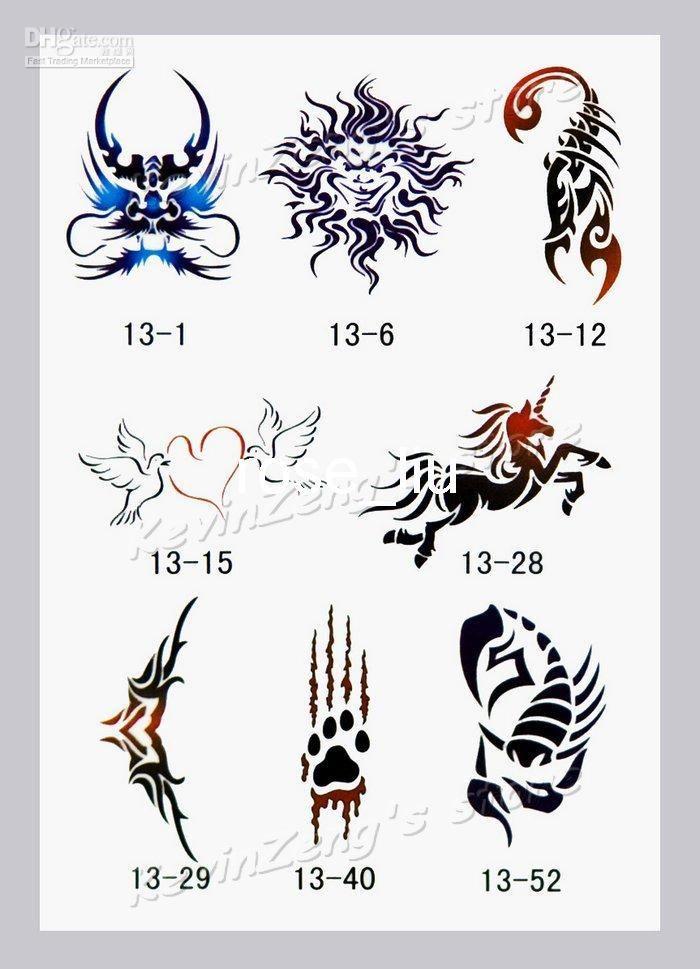 ... Tattoo Stencil Cheap Tattoo Transfer Kit Airbrush Tattoo Stencil