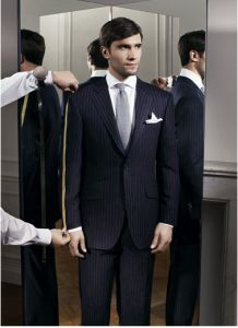 Tailored business suit. Learn what makes you more stylish --> http://justbestylish.com/what-makes-men-more-stylish/