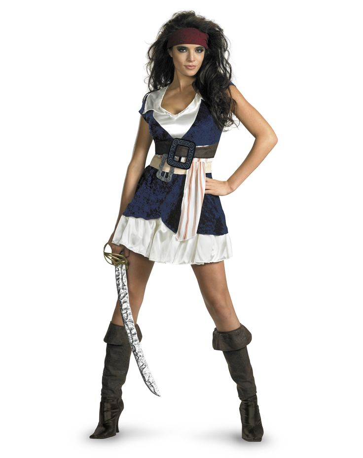 jack sparrow costume for women