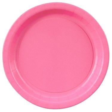 Hot Pink Dinner plates