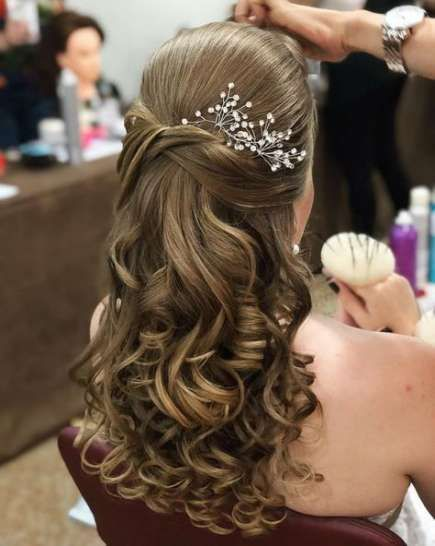 31 Ideas For Bridal Party Hairstyles Updo Curls