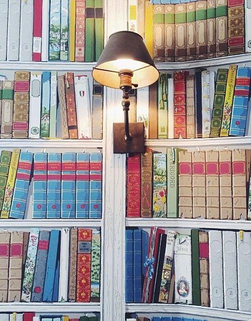 Brunschwig Fils Bibliotheque Wallpaper