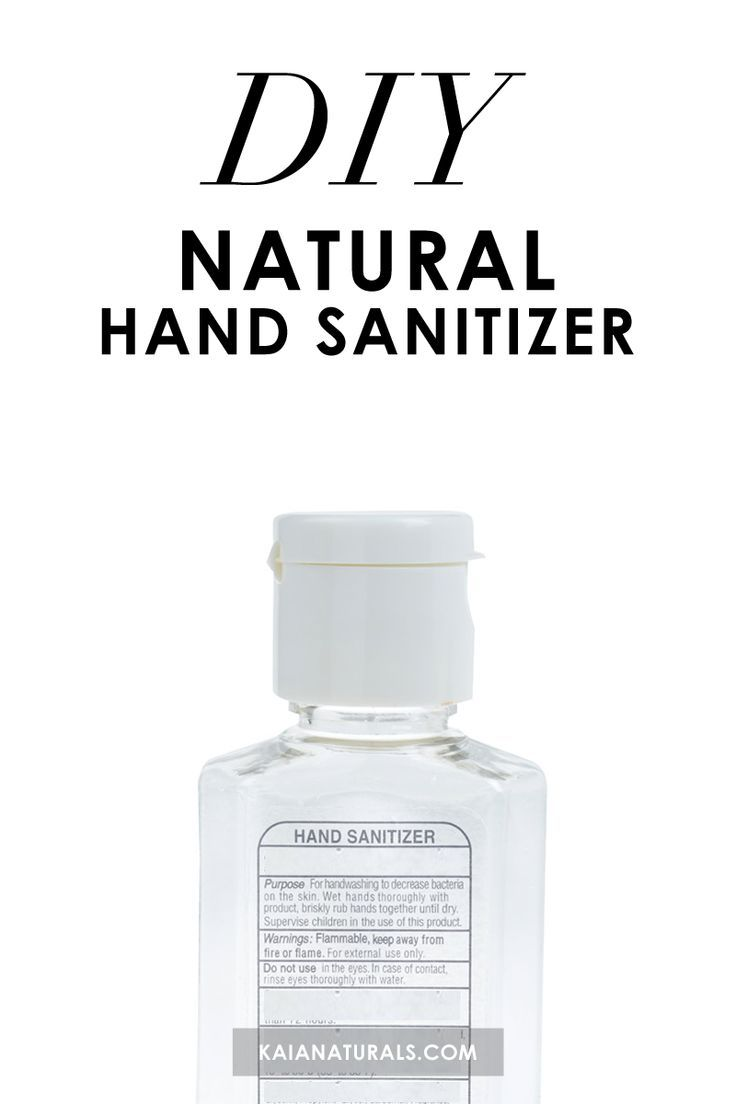 How To Avoid Getting Sick When You Travel Natural Hand Sanitizer
