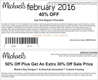 coach coupons outlet dwa9  Printable Coupons: Michaels Coupons