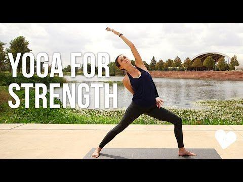 Yoga For Strength – 40 Minute Vinyasa Sequence
