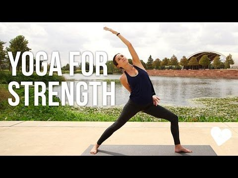 Yoga For Strength – 40 Minute Vinyasa Sequence
