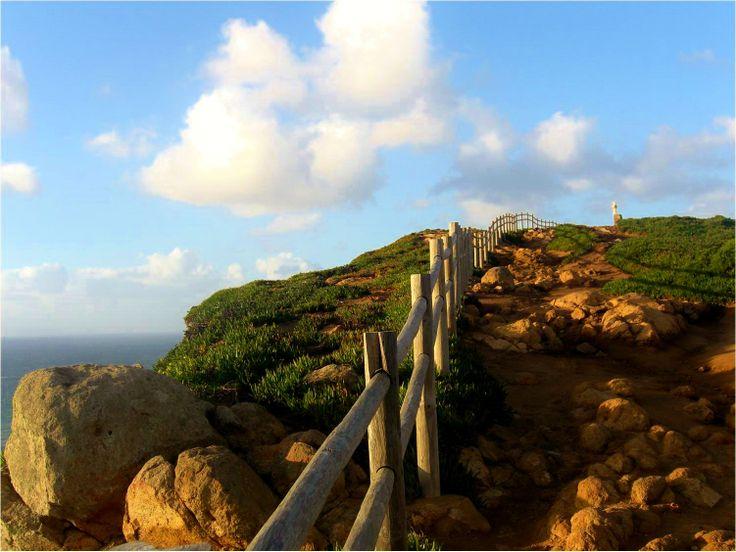 """""""Where the land ends and the sea begins"""" - Luís de Camões #endoftheworld #cabo #da #roca #portugal #sun"""