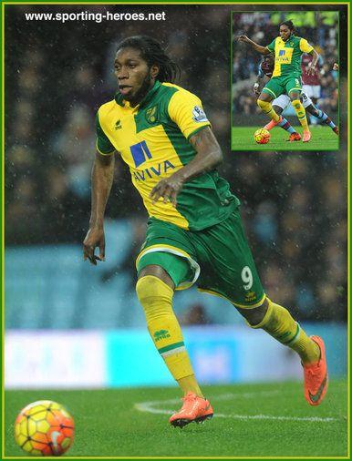 Dieumerci Mbokani - Norwich City FC - Premiership