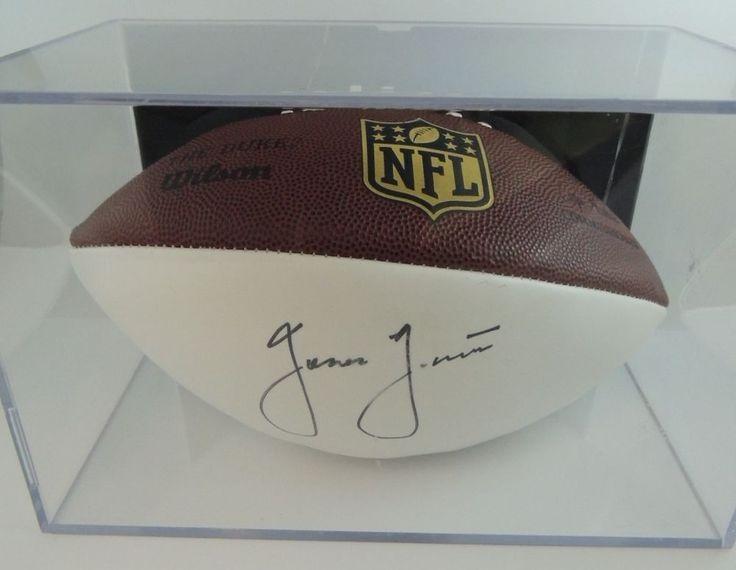 Wilson Football in Case Autographed by Jason Garrett, Dallas Cowboys Head Coach #DallasCowboys #Jason Garrett