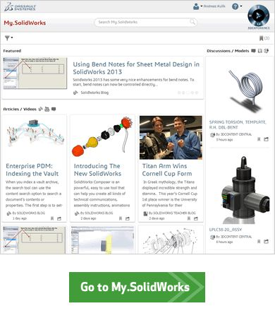 My.SolidWorks Community