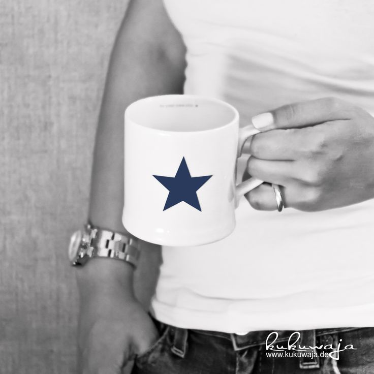 Florence cup navy star