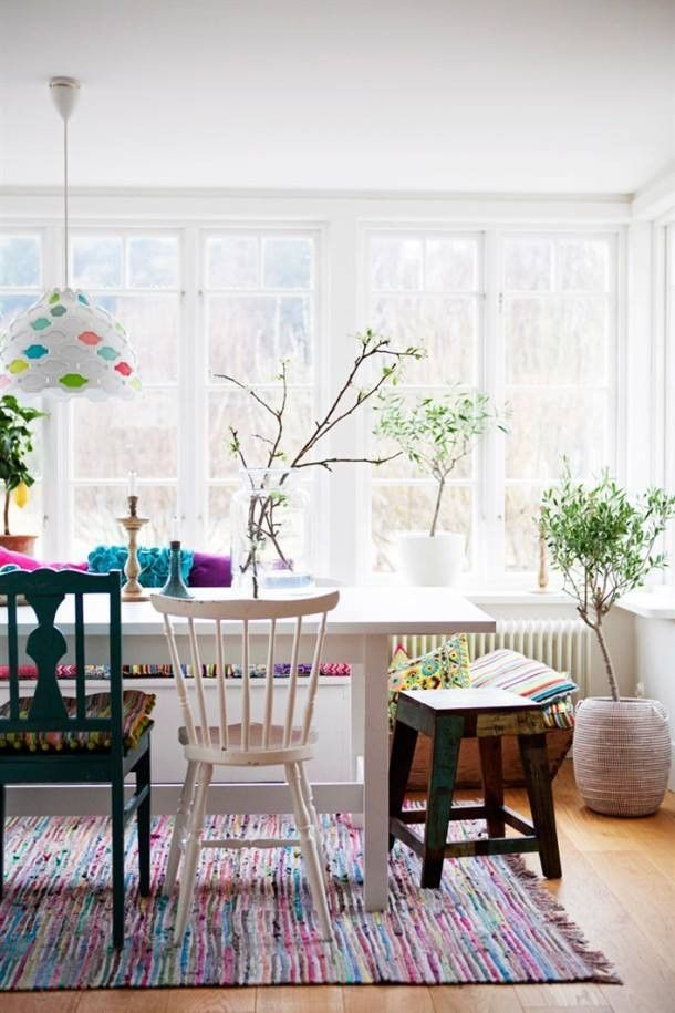 Grand tapis Multicolore - 170x240cm Storebror - Tapis Scandinave - Meubles & Deco - Scandinave - Ambiance et styles