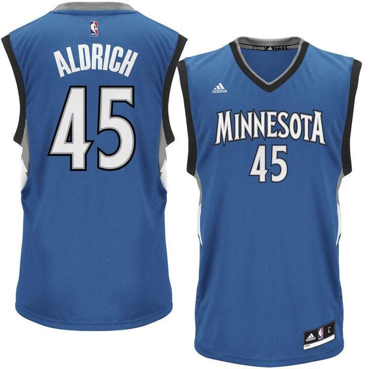 Cole Aldrich Minnesota Timberwolves adidas Road Replica Jersey - Royal