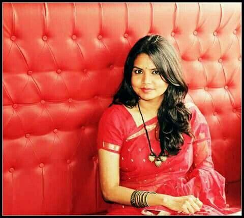 "Client celebrating Bengali New Year ""Pohela Baishakh"" wearing Menka Bangladeshi Saree.  www.facebook.com/Menka.Rupsmania"