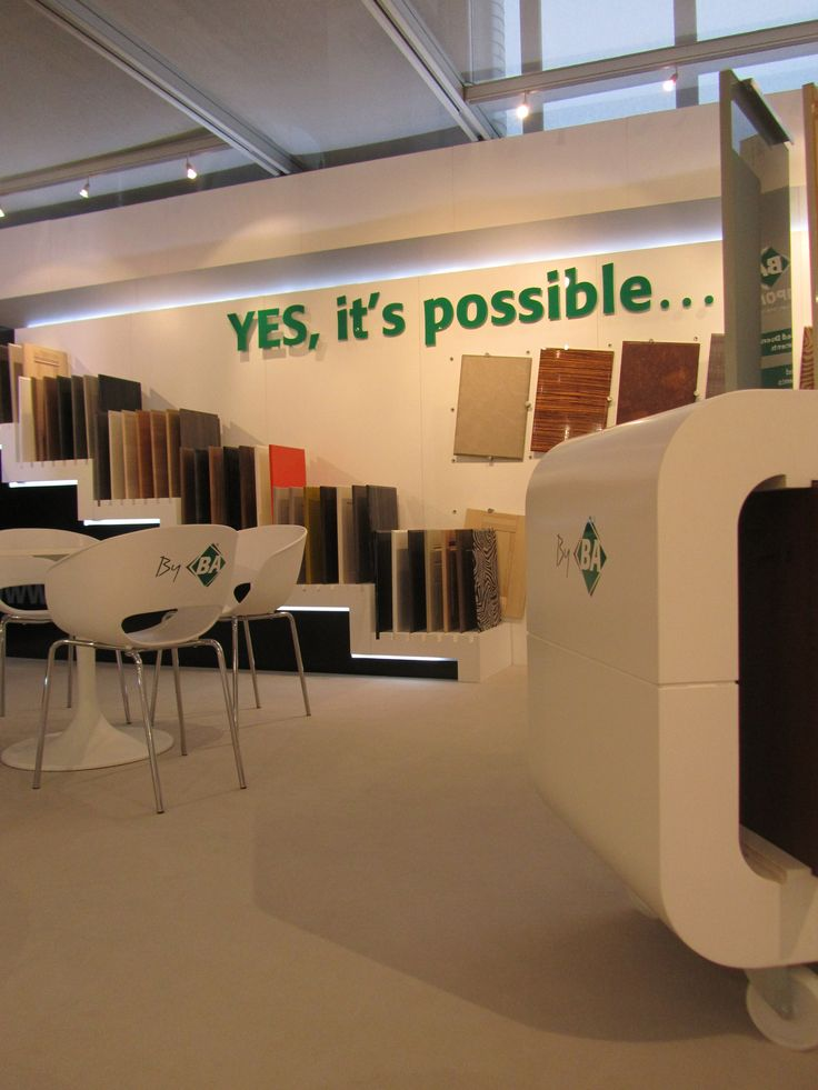 SICAM show stand by BA Components October 2011 #doors #kitchens #bedrooms #bathrooms #offices #byBA
