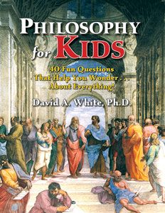 'Philosophy for Kids' - Prufrock Press (materials for Gifted Education, Advanced Learning, Twice-Exceptional Learners, & Special Needs Students).  I absolutely LOVE this book.  Looking forward to finishing it and moving on to 'The Examined Life: Advanced Philosophy for Kids'.