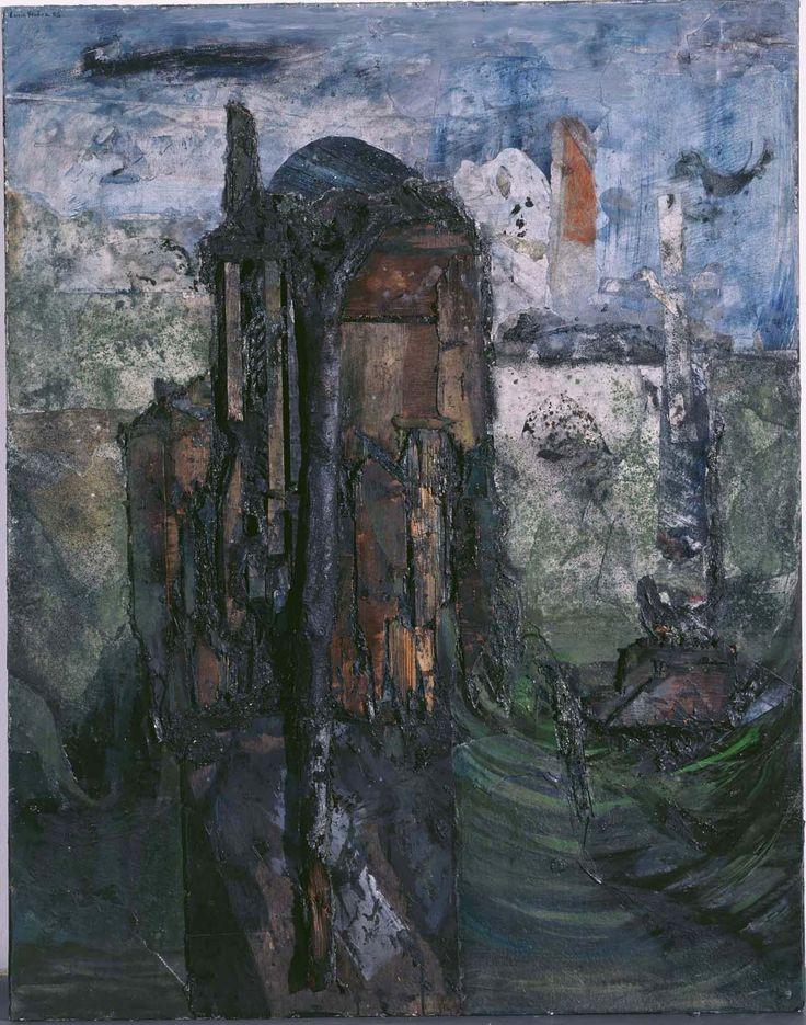 Muñoz, Lucio: Casa de Boek Lucio Muñoz paintings, plastic arts, visual arts, fine arts, abstract