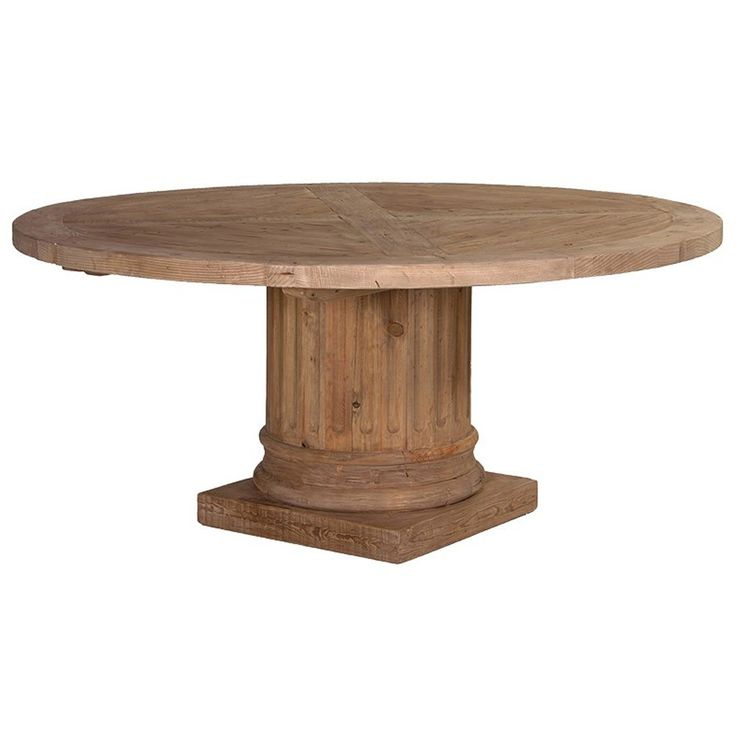Coffee Height Round Large Table Base Round Column: 1000+ Ideas About Large Round Dining Table On Pinterest