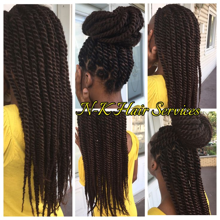Havana Twists with Marley Hair