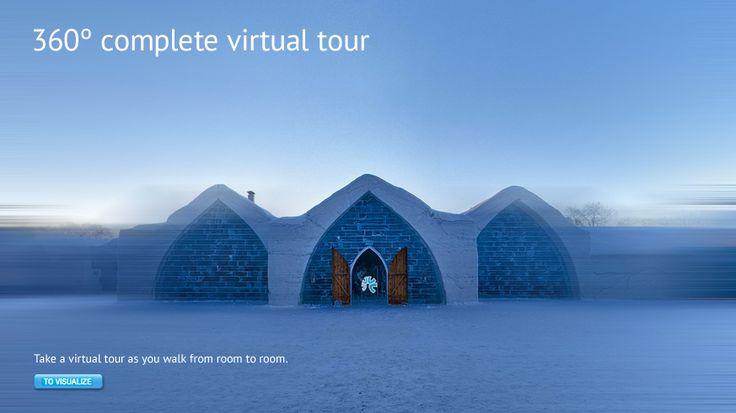 360 degree tour - Hotel de Glace — Quebec City's Ice Hotel
